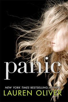 """And now a couple of #animated #book #covers made by Epic Reads team: Here: """"Panic"""" by Lauren Oliver"""