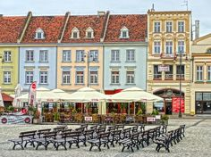 Free Image on Pixabay - Market Square, Bydgoszcz, Poland Coffee Images, Medieval Fantasy, Free Pictures, High Quality Images, Poland, Find Image, Marketing, Mansions, House Styles