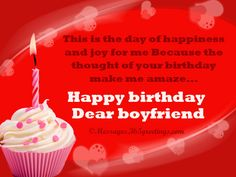 Birthday Wishes for Boyfriend - Messages, Wordings and Gift Ideas