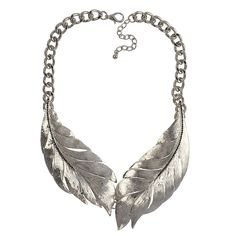 Silver Leaf Necklace Fashion Personalized Necklace Chain Jewelry