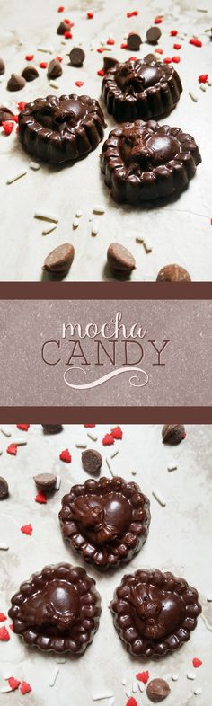 {Vegan, Gluten-Free} With only 3 ingredients, this mocha candy couldn't be quicker or easier to make-- perfect for a delicious, chocolaty treat!