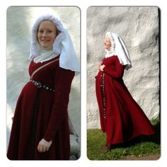 Medieval maternity wear...lovely! not that I need this, but always good to have on hand.