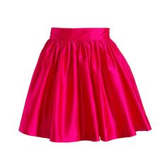 Classic Party Skirt → Magenta
