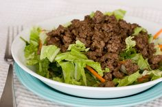 Asian Beef and Cabbage Salad by Taste and Tell