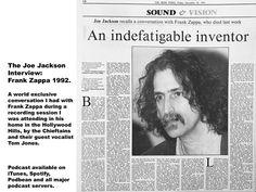 Joe Jackson (@JoeJacksonJnr) / Twitter Irish Times, The Joe, Frank Zappa, Jackson, Interview, Author, Twitter, Writers, Jackson Family