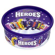 Cadbury Heroes Tub 695g
