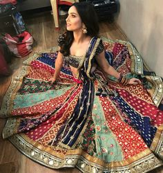 Chaniya choli ghagra Indian clothing Chaniya choli ghagra Indian clothing Other - kesk Garba Chaniya Choli, Garba Dress, Navratri Dress, Choli Blouse Design, Choli Designs, Lehenga Designs, Gharara Designs, Pakistani Bridal Wear, Pakistani Dresses