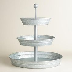 One of my favorite discoveries at WorldMarket.com: Metal 3-Tier Stand
