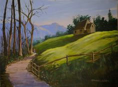 How to Paint an Early Morning Walk in Acrylic — Online Art Lessons