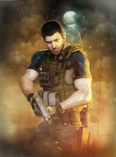 jill valentine chris redfield love