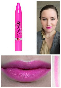 Rimmel Lasting Finish Colour Rush Balm in I Want Candy swatches and photos on fair skin