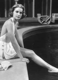 Why don't they make swimsuits like this anymore? Grace Kelly in High Society