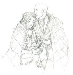 Солас,DA персонажи,Dragon Age,фэндомы,Инквизитор (DA),Железный бык,скетчи