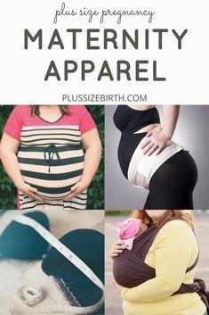 Plus size maternity apparel | plus size maternity clothes | plus size belly bands | plus size nursing bras | plus size babywearing
