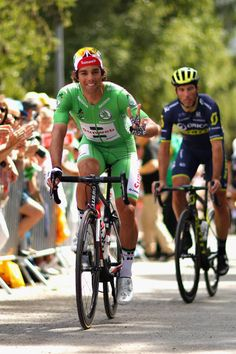Michael Matthews of Australia riding for Team Sunweb wearing the green sprinters jersey prepares to ride on stage nineteen of the 2017 Tour de France...