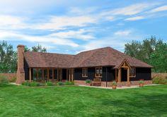 Scandia Hus | Timber Frame | Bungalow Design