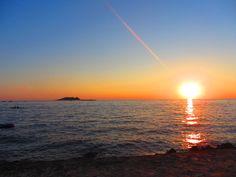 sunset, Croazia
