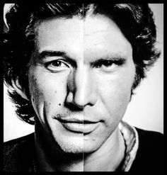 From far off, Adam Driver looks nothing like Harrison Ford, but when next to each other, I can believe them as father and son onscreen!