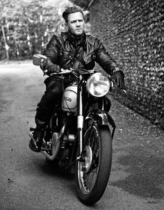 Belstaff   Designer clothing, bags, shoes & accessories   Belstaff.com   ewan mcgreggor   english   motorbike   actor   leather   raw   hot   freedom