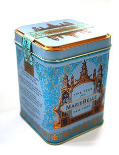 MarieBelle tea tin