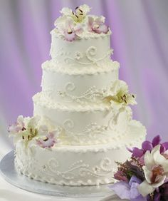 Only Love Wedding Cake