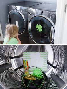 """Lucky Little Scavenger Hunt  One of our favorite contributors Lindsey Marlor of Pillow Thought put together this darling scavenger hunt just in time for St. Patrick's Day! She has included the free downloadable sheet of clues, a cheat sheet to keep track of the action, and the final love note at the end. Ready to begin?"" (free printable)"