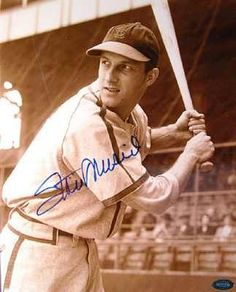 Stan Musial - R.I.P  I never got to see you play, but you have and will always be one of St Louis's favorite people.