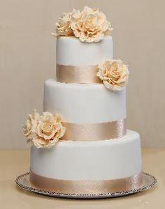 tortas de bodas sencillas , Buscar con Google
