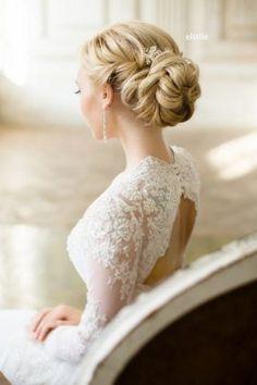 Half-updo, Braids, Chongos Updo Wedding Hairstyles