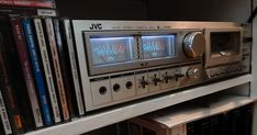 JVC cassette deck from the retrofitted with new electronics. Now you can stream Spotify, your digital music files or live web radio. Class D Amplifier, Original Nintendo, Electronic Items, Ipod Nano, Music Files, Technology Gadgets, Looks Cool, Golden Age, Timeless Design