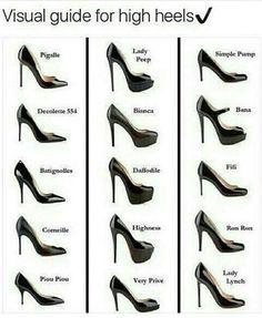 High heels guide