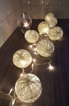"""Pidän erityisen paljon valosta. Syksyn tullen ehkä eniten odotan tunnelmavalojen asentamista ja sitä että """"koska saa jo laittaa jouluvalot?!... Nordic Christmas, Christmas Crafts, Xmas, Diy And Crafts, Arts And Crafts, Paper Light, Letter A Crafts, Handicraft, Ceiling Lights"""