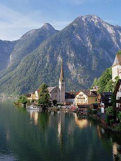 Lake Hallstatt, Austria. Photo by Dennis Barloga