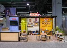Tradeshow booth for natural food client at Expo West 2015