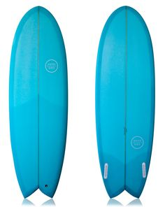 """WATERSHED SURFBOARDS ROUND NOSE FISH BLUE 5'11"""""""