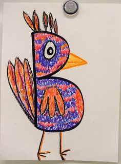 Creative Letter Drawings (1st)