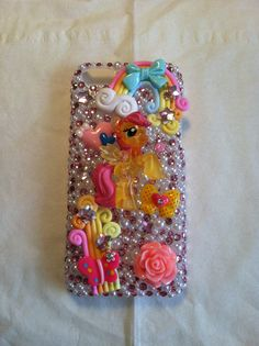 My little pony iphone 5c phone case from my shop on Etsy- Cherbearphonecases