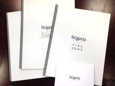 Bogavia presentation booklets.