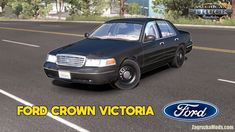 Ford Crown Victoria v3.0 by Metehan BİLAL (1.38.x) for ATS Small Caravans, Truck Games, Citroen Ds3, American Truck Simulator, Dodge Challenger Srt, Rims And Tires, Victoria, Rear Wheel Drive, Crown