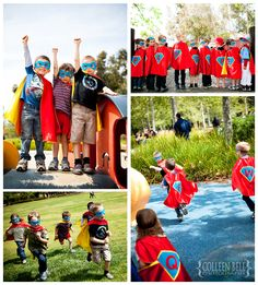 Super Hero Birthday Party » colleenbell.com