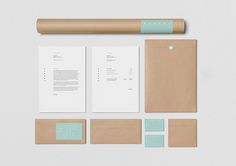 Sonia and Mark White Snow by Egor Kevraletin corporate identity branding