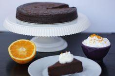 flourless chocolate orange torte, gluten free