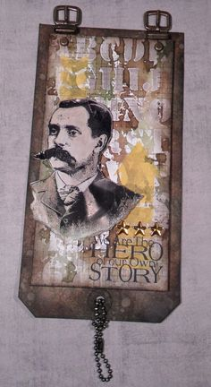 sigh - love that background that crazy chick: Rucksack Atc Cards, Card Tags, Paper Cards, Masculine Art, Timmy Time, Tim Holtz Stamps, How To Age Paper, Handmade Tags, Distressed Painting