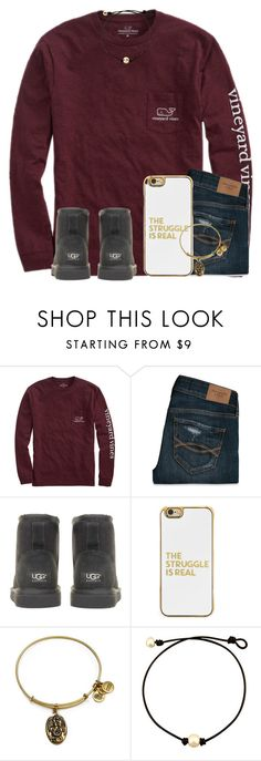 """""""""""Be a beacon of light"""" 💡"""" by kari-luvs-u-2 ❤ liked on Polyvore featuring Vineyard Vines, Abercrombie & Fitch, UGG Australia, BaubleBar and Alex and Ani"""
