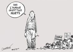 [Europe Solidaire Sans Frontières] Dessinateurs de presse – Depuis l'attentat de «Charlie Hebdo», «on a franchi une ligne dans le sang»
