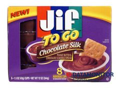 Jif has made #Chocolate and #Peanutbutter #portable with #ChocolateSilkToGo in #USA