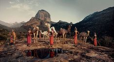 "On the occasion of the International Day of the World's Indigenous Peoples, which falls on Aug. check out this stunning selection of photographs of indigenous tribes collated by Jimmy Nelson for his project ""Before They Pass Away. Tribes Of The World, We Are The World, People Of The World, Valle Del Rift, Papua Nova Guiné, Martin Schoeller, Jimmy Nelson, Mount Kenya, Rift Valley"