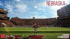 #Nebraska Cornhuskers. #Love ❤