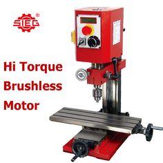 Sieg SX1 P Milling Machine 400mm X 145mm Long Table Brushless HI Torque Motor   $859aud from ebay