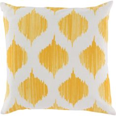 This pillow is the combination of classical stylings and modern flavor you've been searching for. Available in a variety of colors, this pillow's updated ikat pattern is sure to be the dash of color and energy your living space needs.